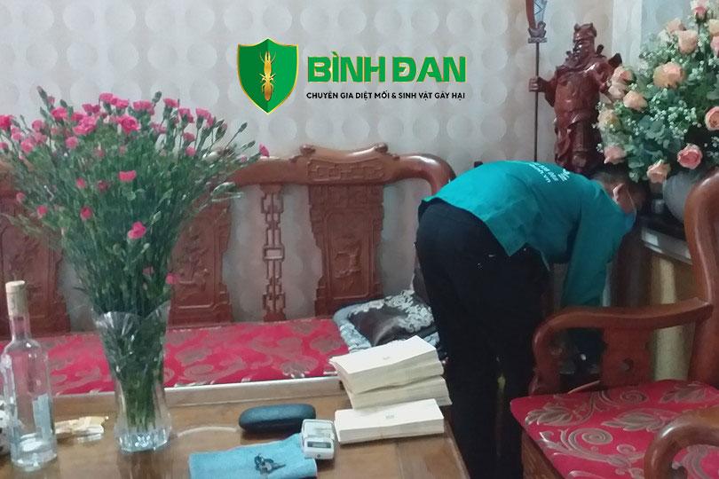 Hình ảnh diệt mối tại phường Ba Đình - Thanh Hóa 1