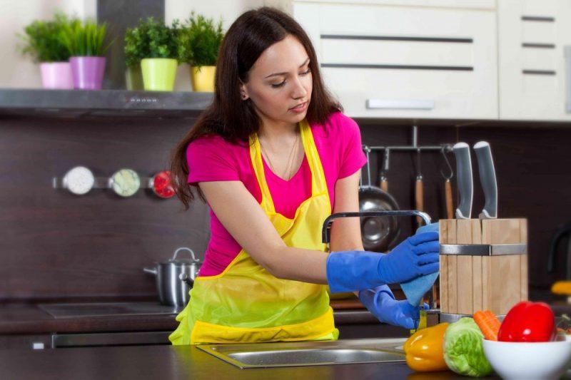 Vệ sinh nhà bếp 1