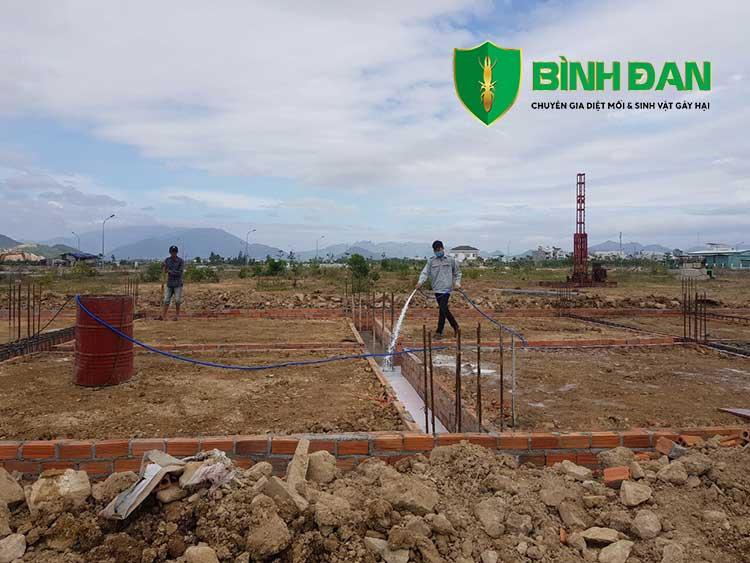 Hình ảnh thi công phòng mối cho công trình xây dựng mới 5